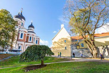 Alexander Nevski cathedral, Tallinn in Estonia