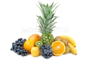 pineapple and other fruits