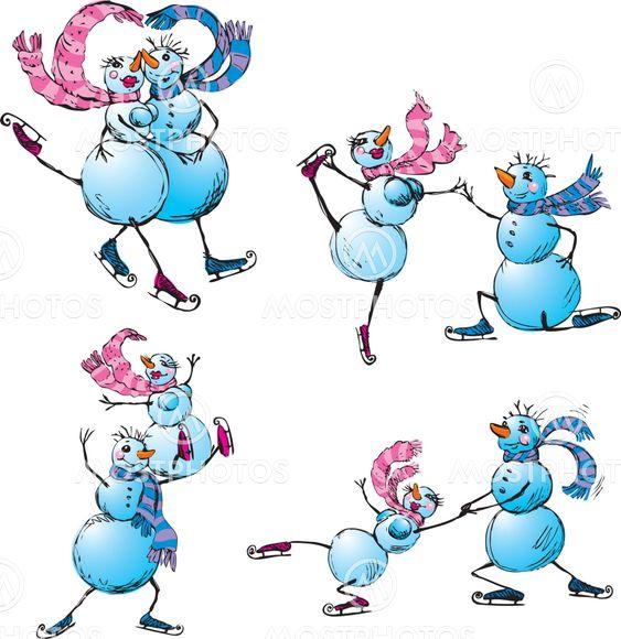 Lumiukko Piirretty