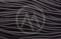 Black elastic band for sewing clothes. Sewing rubber...