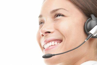 Headset woman