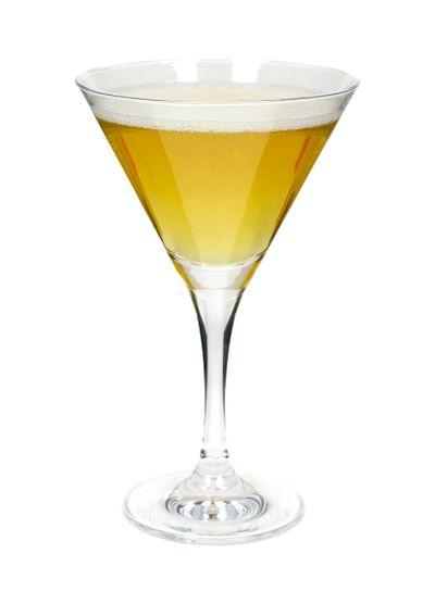Golden apple drink