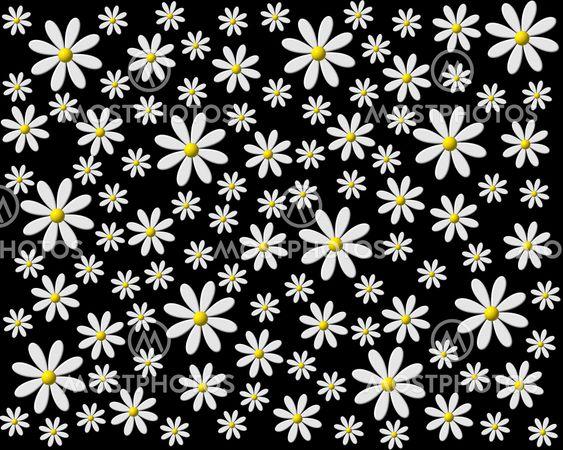 Flowers, Flower, Pink Flower, Creative, Spring - Forårsblomst Clipart Sort  Hvid - Free Transparent PNG Clipart Images Download