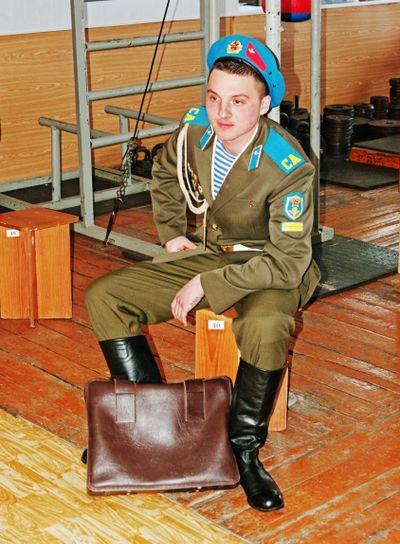 Soviet  paratroopers uniform 1970-80