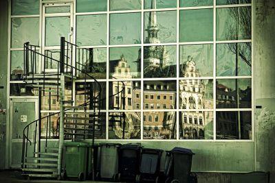 Urban reflections.