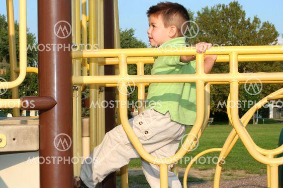Climbing Boy