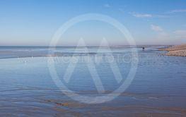 Beach of Cayeux-sur-Mer, Somme, Hauts-de-France, France