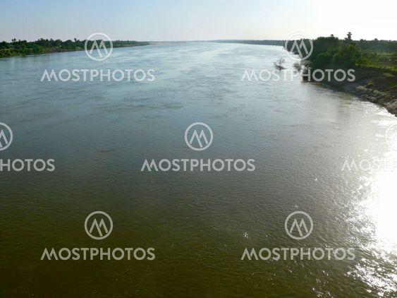 Nile and the coast of the Nile. Landscape nature.