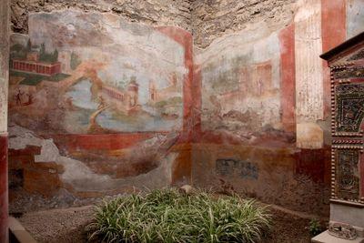 Painting in Pompeii