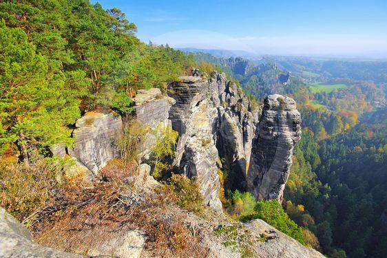 called Raaber Kessel in the Elbe sandstone mountains