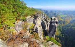 called Raaber Kessel in the Elbe sandstone mountains