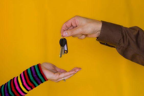 Giving the keys