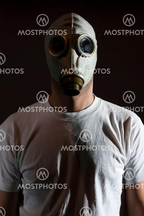 Gasmaske fare
