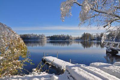 En smak av vinter