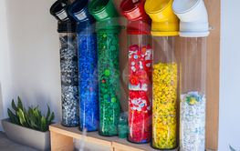 collection and recycling plastic. attempt to solve the...