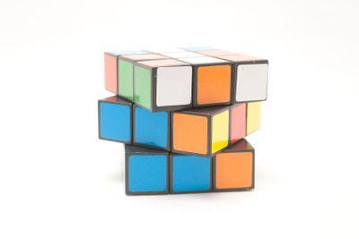 Multi-coloured Cube A Puzzle