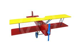 Airplane, colorful wooden toy