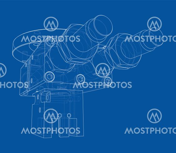 Abstract industry object concept. Vector