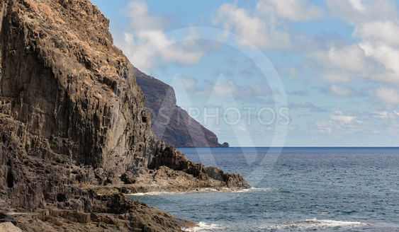 Picturesque landscape taken in Tenerife, Canary Islands,...
