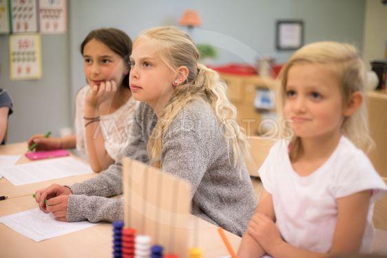 undervisning i lågstadieklass