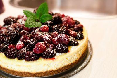 berry cheescake