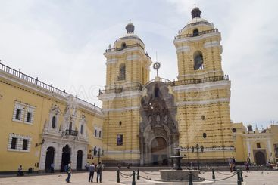 Monastery of San Francisco, Peru.