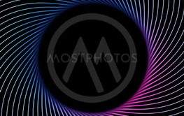 Abstract information technology 3D background with a...