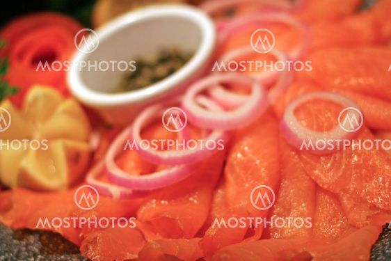 Smoked Salmon Tray
