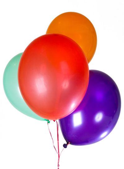 Happy Birthday party balloons decoration