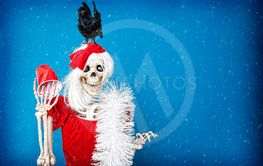 Christmas Party Skeleton