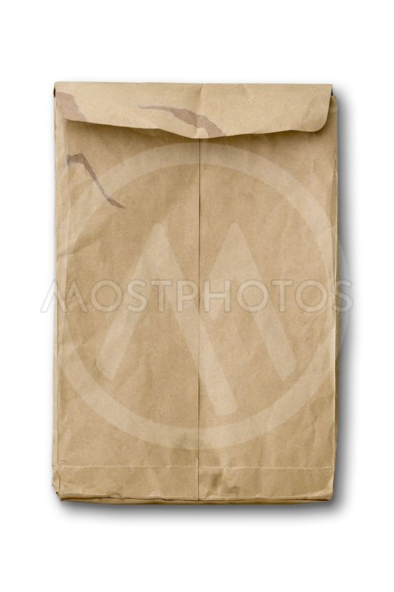 Baksidan av gamla brun papper omger