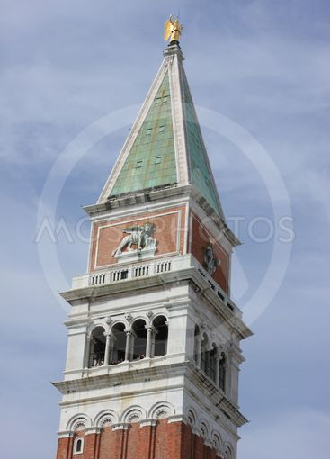 famous bell tower in Venice