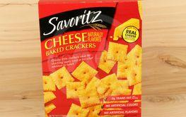 Box of Savoritz Crackers