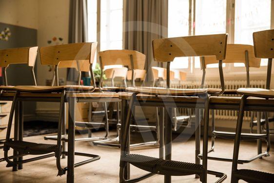 Tomt klassrum