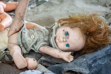 Dirty old doll