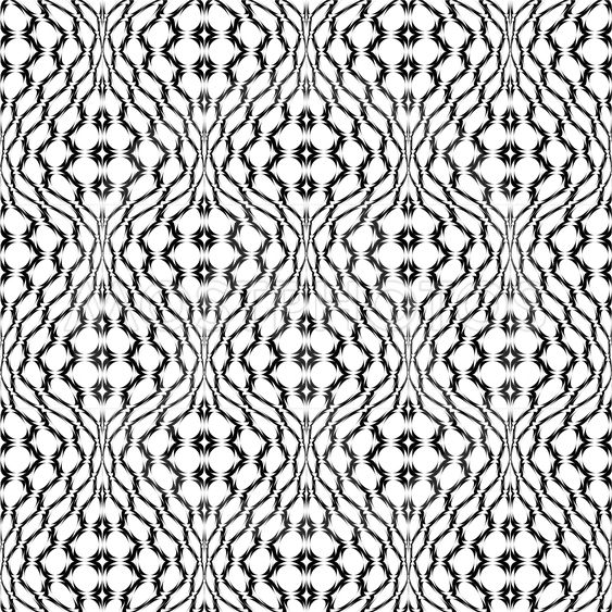 Design seamless monochrome latticed decorative pattern....