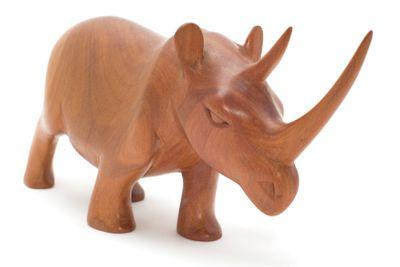wood rhinoceros