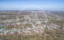 Square of the city of Stavropol. Russia