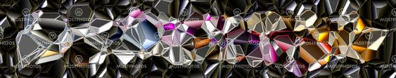 fantastic illustrated glass background object
