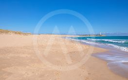 beautiful wild beaches of Zahora and Cala Isabel in Cadiz