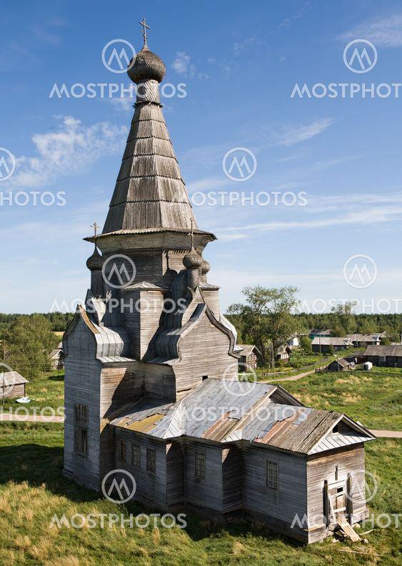 Russian rural church