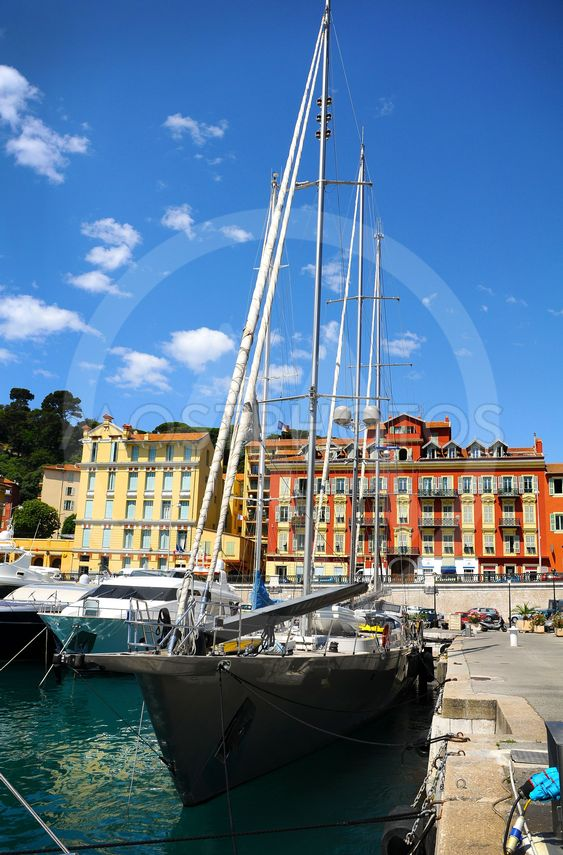 Port of Nice in southeastern France
