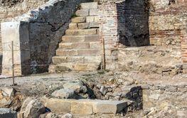 Heraclea Sintica -  Ruins of ancient Macedonia polis,...