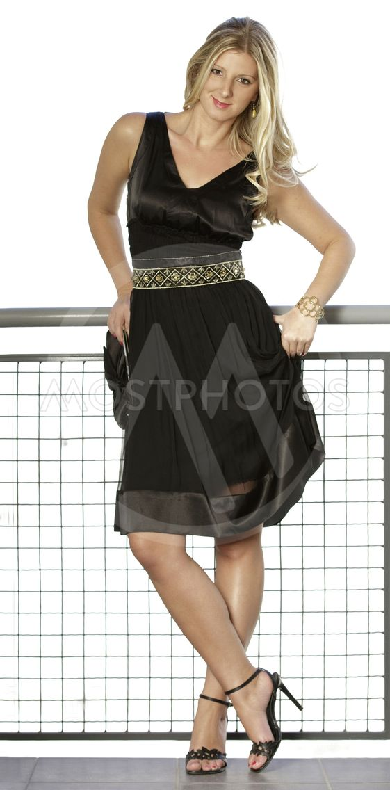 sort kjole sex