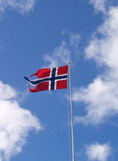 Flag og Norway