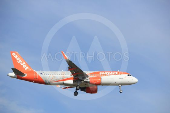 Amsterdam, the Netherlands, July, 21st 2016: G-EZOX...