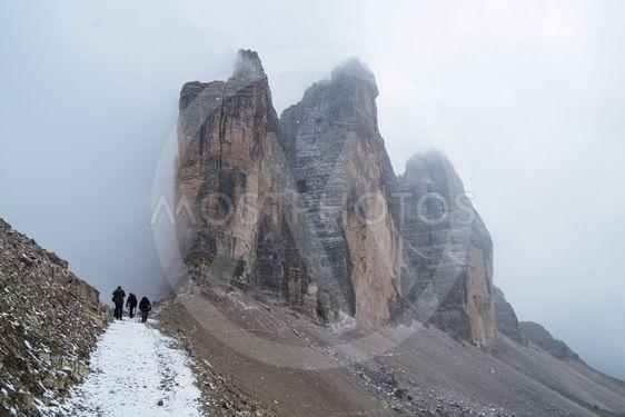 Drei Zinnen Lavaredo, Dolomites Alps mountains