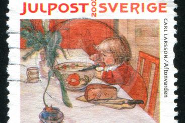 Aftonvarden by Carl Larsson