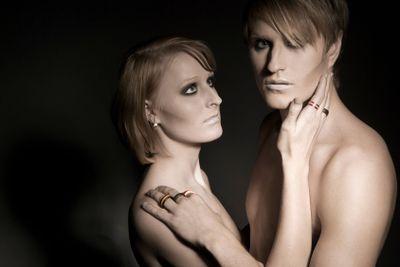 Models wearing BBAC rings