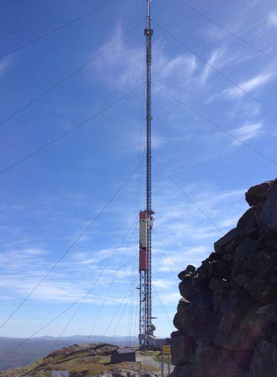 Vassfjellmasten, 210 meter